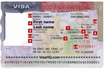 Visa di My