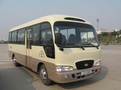 Xe Hyundai County 24 cho cho thue tai TP. HCM di Thu Dau Mot (Binh Duong)