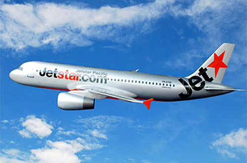Ve may bay Jetstar tu Ha Noi di Sai Gon