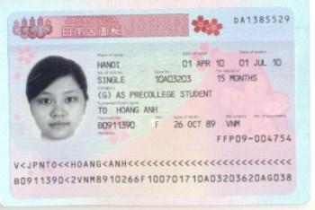 Dich vu lam visa Nhat gia re