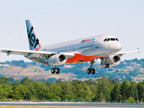 Ve may bay Jetstar Pacific gia re