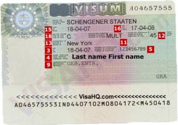 Visa Duc di tham than