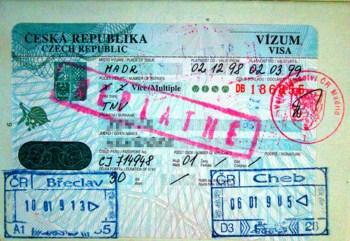 Làm visa đi thăm thân nhân séc - 1