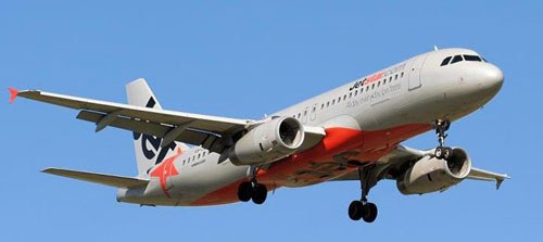 Ve may bay Jetstar di Sai Gon