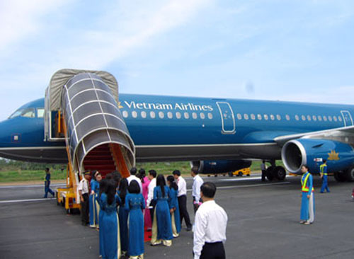 Ve may bay Vietnam Airlines khoi hanh tu Buon Ma Thuot