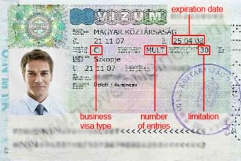 Visa di qua canh Hungary loai 3 thang 1 lan