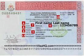 Dich vu lam visa di Malaysia