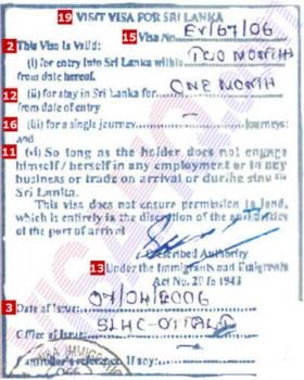 Xin visa đi du học sri lanka - 1