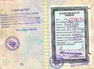Xin visa đi pakistan với mục đích thăm thân - 1