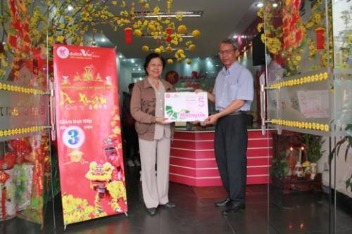 Khách hàng Hồ Thanh Tùng - Trúng tour Malaysia 4N