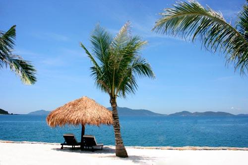 Bãi biển Amiana Resort Nha Trang