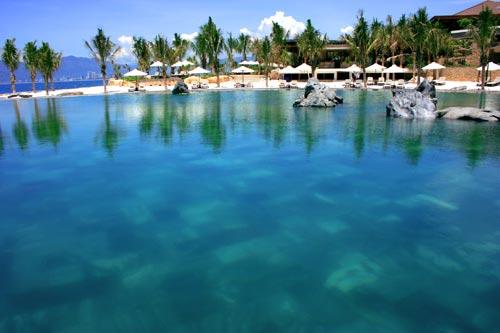 Hồ bơi Amiana Resort Nha Trang