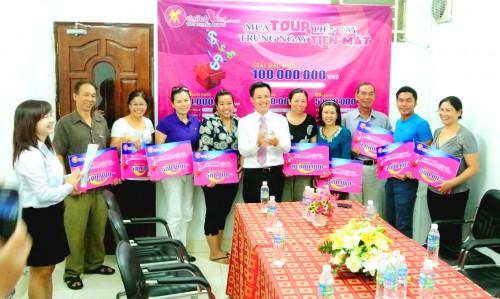 Không khí tươi vui, phấn khởi tại trao giải trao giải thưởng