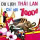 Du lịch Thái Lan chỉ 1000Đ