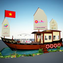 Du lịch Việt tham gia Ngày hội Du lịch Thành phố Hồ Chí Minh 2014
