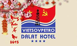 Khách sạn Vietsovpetro Đà Lạt dịp tết Ất Mùi 2015