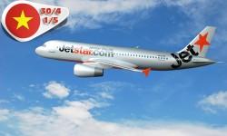 Vé máy bay Jetstar Pacific đi Phú Quốc từ TP HCM dịp 30-4 & 1-5