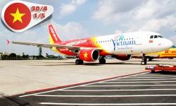Vé máy bay VietJet Air đi Phú Quốc từ TP HCM dịp 30-4 & 1-5