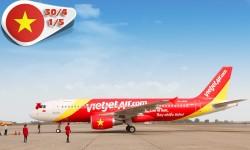 Vé máy bay VietJet Air đi Nha Trang từ TP HCM dịp 30-4 & 1-5