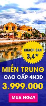 Du lịch Miền Trung giá 3tr999