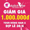 Du lịch Đông Nam Á dịp 30/4 tiết kiệm 1.000.000 VNĐ