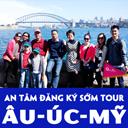An tâm khi đăng ký sớm tour Âu – Úc – Mỹ