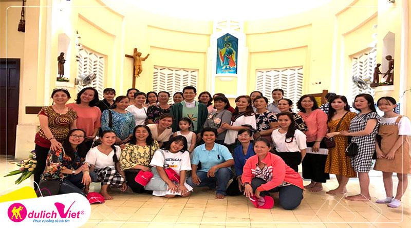 Du Lịch Việt đồng hành cùng Giáo xứ Châu Bình - Hành hương Đức Mẹ Mê-Kông 2N1Đ
