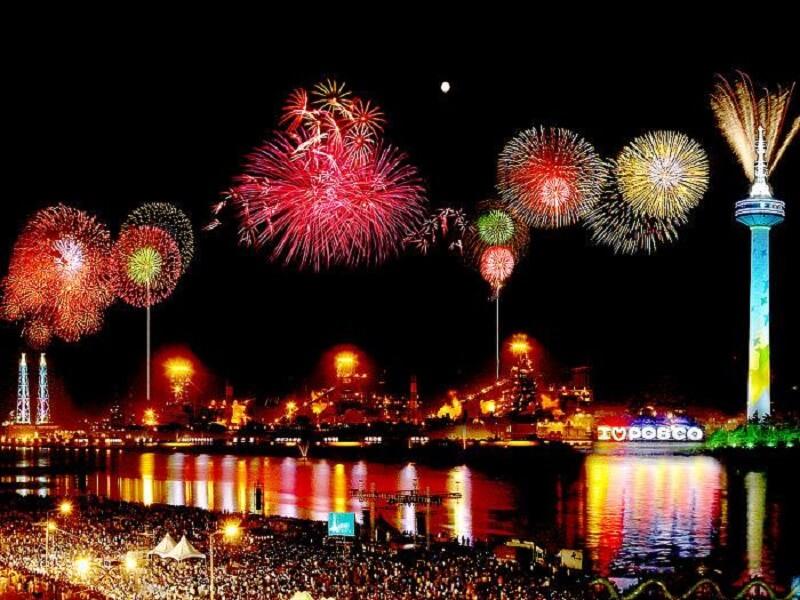 Bắn pháo hoa Busan - lễ hội pháo hoa lớn tại Hàn Quốc