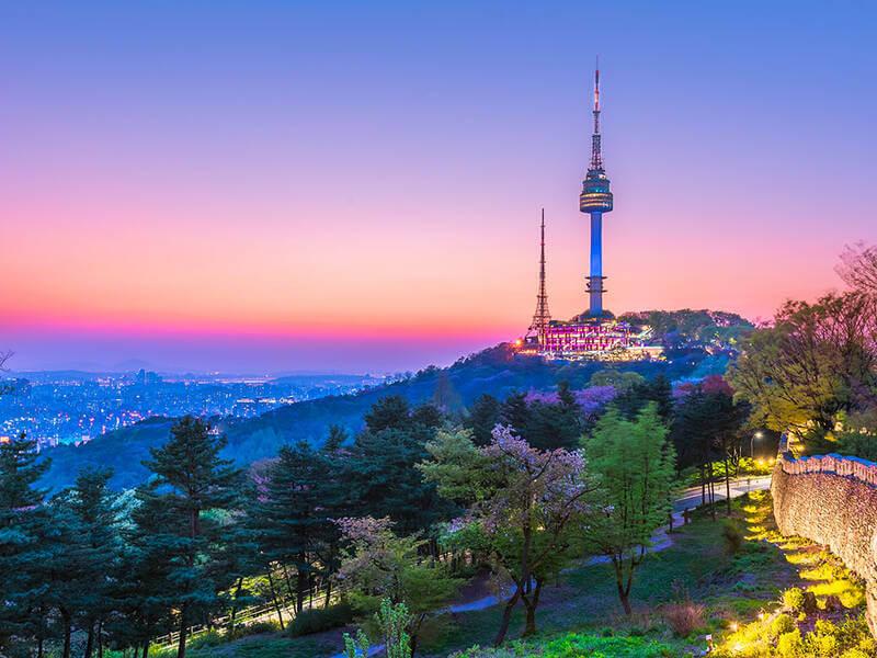 Vẻ đẹp tỉnh Daegu về đêm khiến khách du lịch Hàn Quốc say dắm