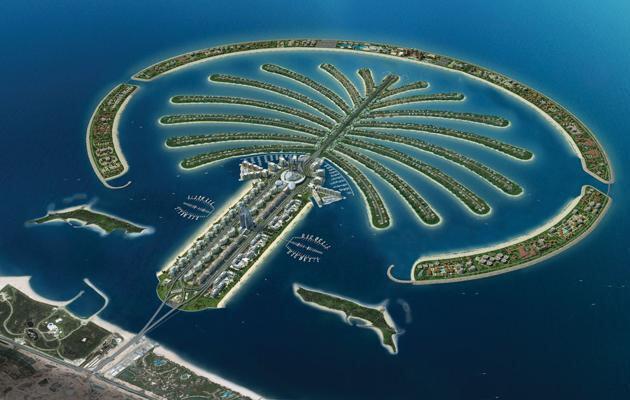 Du lịch Dubai - Đảo cọ Dubai