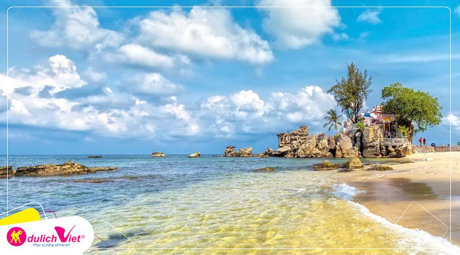 Tour du lịch Phú Quốc mùa Thu, ngắm hoàng hôn tại Sunset Sanato (Tặng tour câu cá, lặn ngắm san hô, 20kg hành lý)