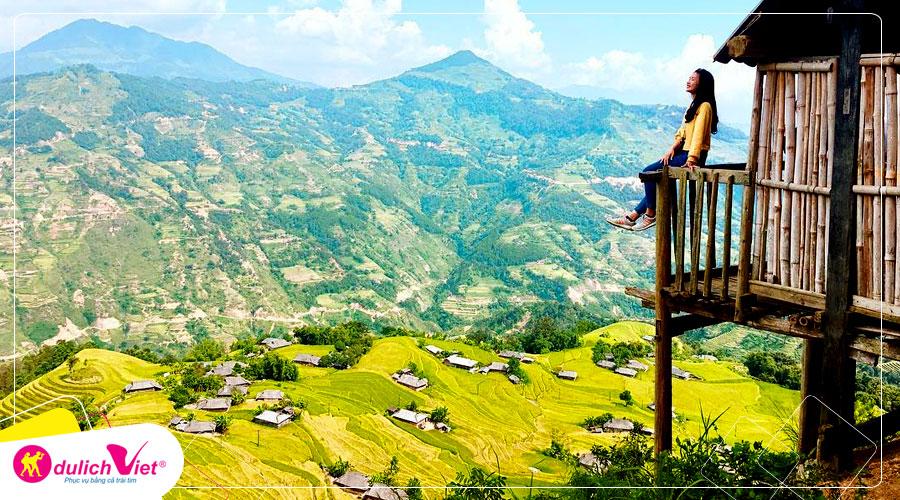Tour Miền Bắc - Hà Giang - Quản Bạ - Lũng Cú - Mèo Vạc - Đền Hùng 5 ngày mùa Thu từ Sài Gòn