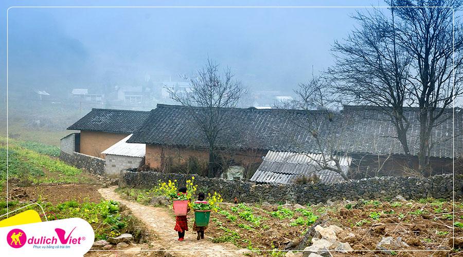 Tour du lịch Miền Bắc - Đông Bắc - Hà Giang - Cao Bằng 5 ngày mùa Thu từ Sài Gòn