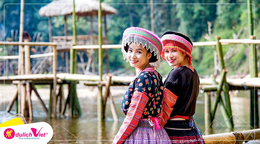 Du Lịch Hà Nội - Lào Cai - Sapa - Chinh phục Fansipan bay Vietnam Airlines từ Sài Gòn