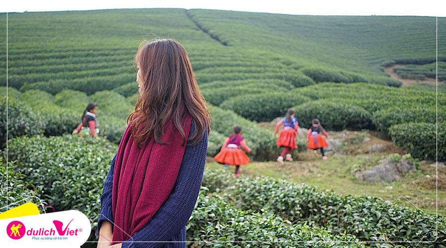 Du Lịch Mai Châu - Mộc Châu - Yên Bái - Sapa mùa lúa chín bay Vietnam Airlines từ Sài Gòn
