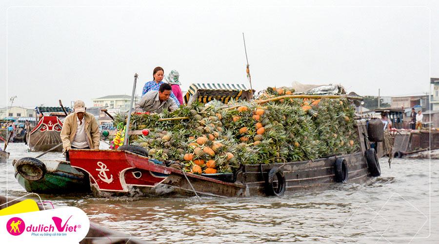 Du lịch Tết Canh Tý 2020 - Tour Cồn Long - Cần Thơ 2 ngày khởi hành từ Sài Gòn
