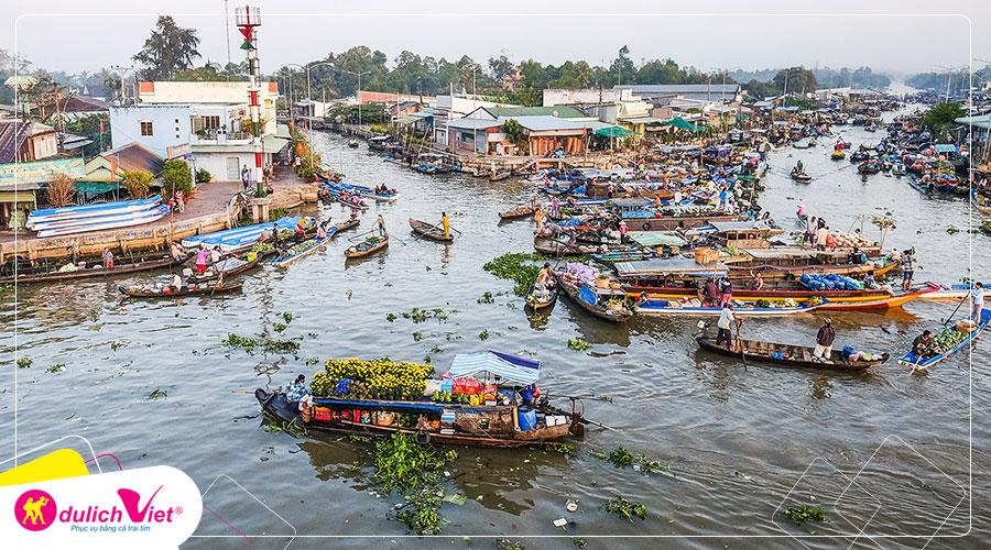 Du lịch Tết Dương Lịch 2020 Mỹ Tho - Cần Thơ 2 ngày 2 đêm khởi hành từ Sài Gòn
