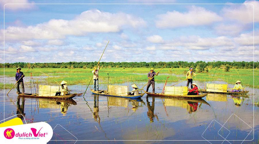 Du lịch Miền Tây - Du lịch Châu Đốc mùa nước nổi từ Sài Gòn