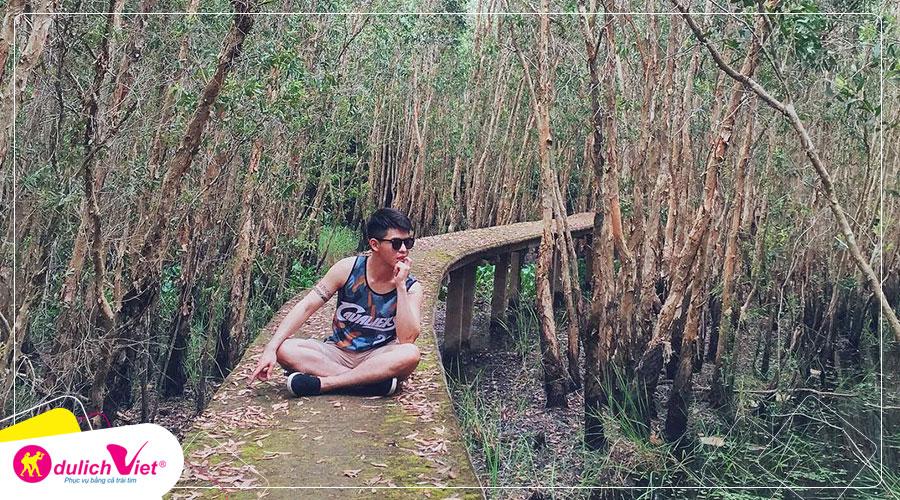Du lịch Long An Tết Dương lịch - Khám phá làng nổi Tân Lập con đường xuyên rừng tràm đẹp nhất Việt Nam