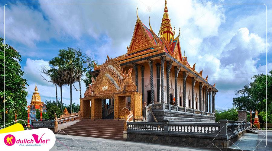 Tour du lịch Sóc Trăng mùa nước nổi, tham quan Cồn Mỹ Phước - Côn Đảo 4 ngày từ Sài Gòn