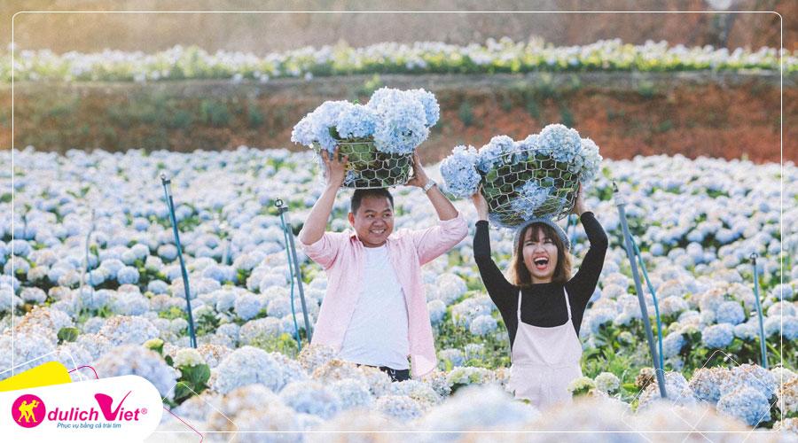 Du lịch Đà Lạt Festival Hoa Đà Lạt VIII 3 ngày 2 đêm từ Sài gòn 2019