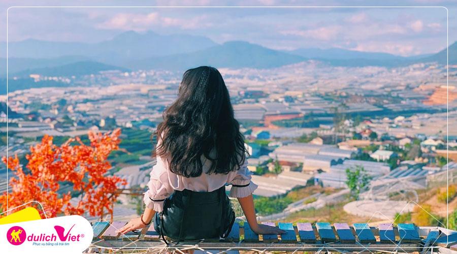 Du lịch Đà Lạt - Hoa Sơn Điền Trang - Mê Linh Coffee Garden mùa hè từ Sài Gòn
