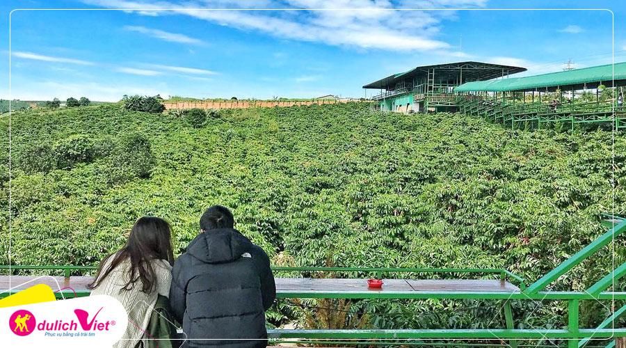 Du lịch Đà Lạt dịp Lễ 2/9 tham quan trang trại rau và hoa từ Sài Gòn giá tốt