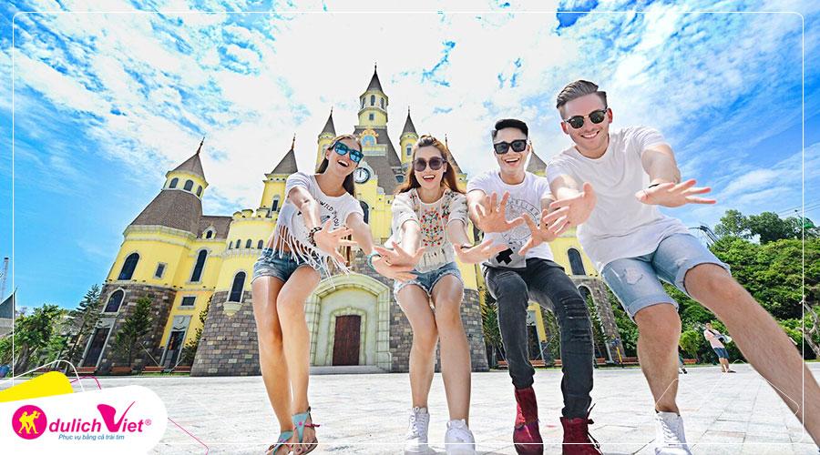 Du lịch Nha Trang Lễ 2/9 - Du ngoạn 4 đảo - Vinpearland - Tháp Bà Ponagar từ Sài Gòn