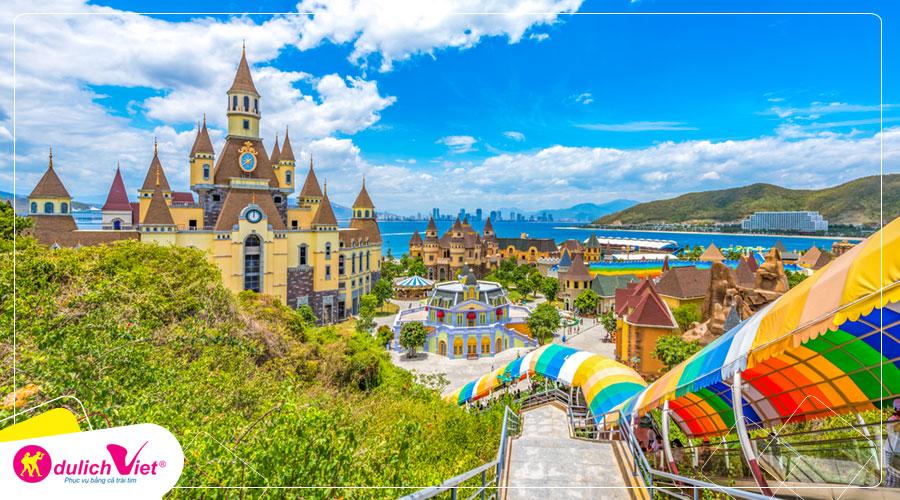 Du lịch Nha Trang - Vinpearland - Đảo Bình Hưng 4 ngày khởi hành từ Sài Gòn