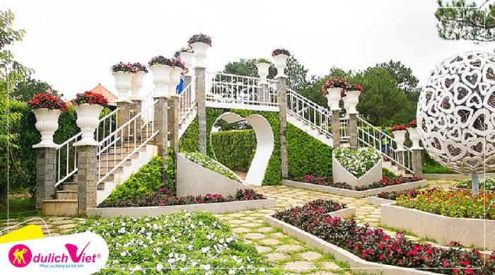 Du lịch Đà Lạt Tết Nguyên đán 2020 - Trang Trại Rau Và Hoa 3N2Đ từ Sài Gòn