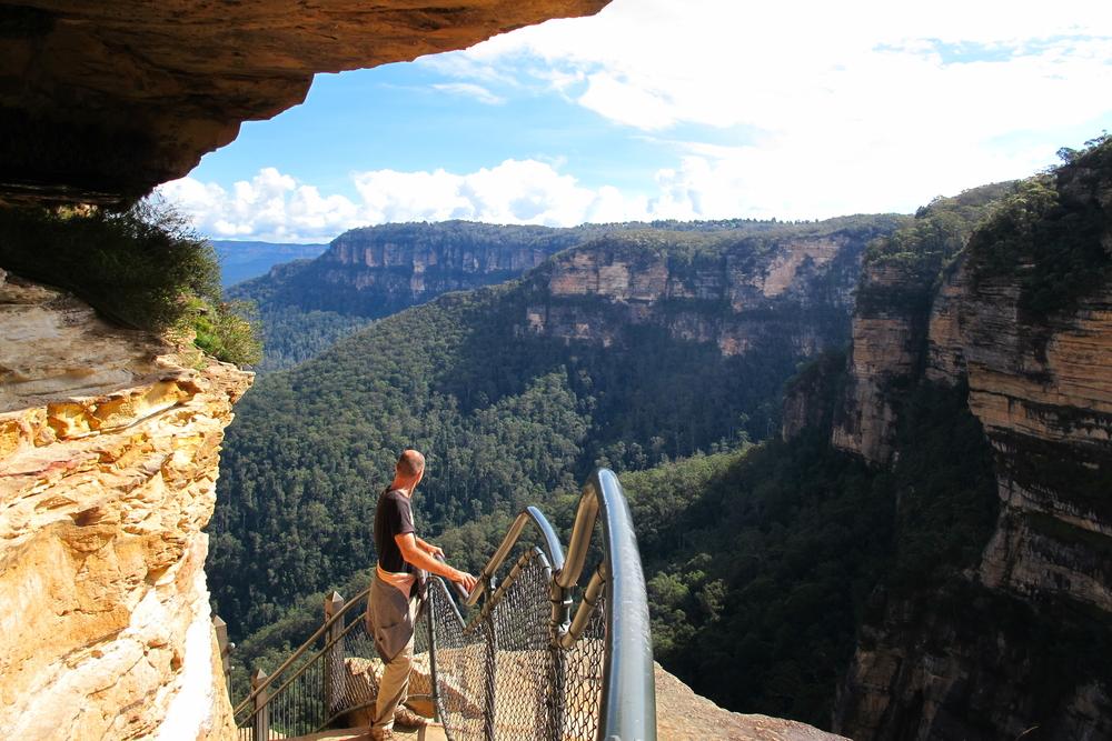 Du lịch Úc - Blue Mountains