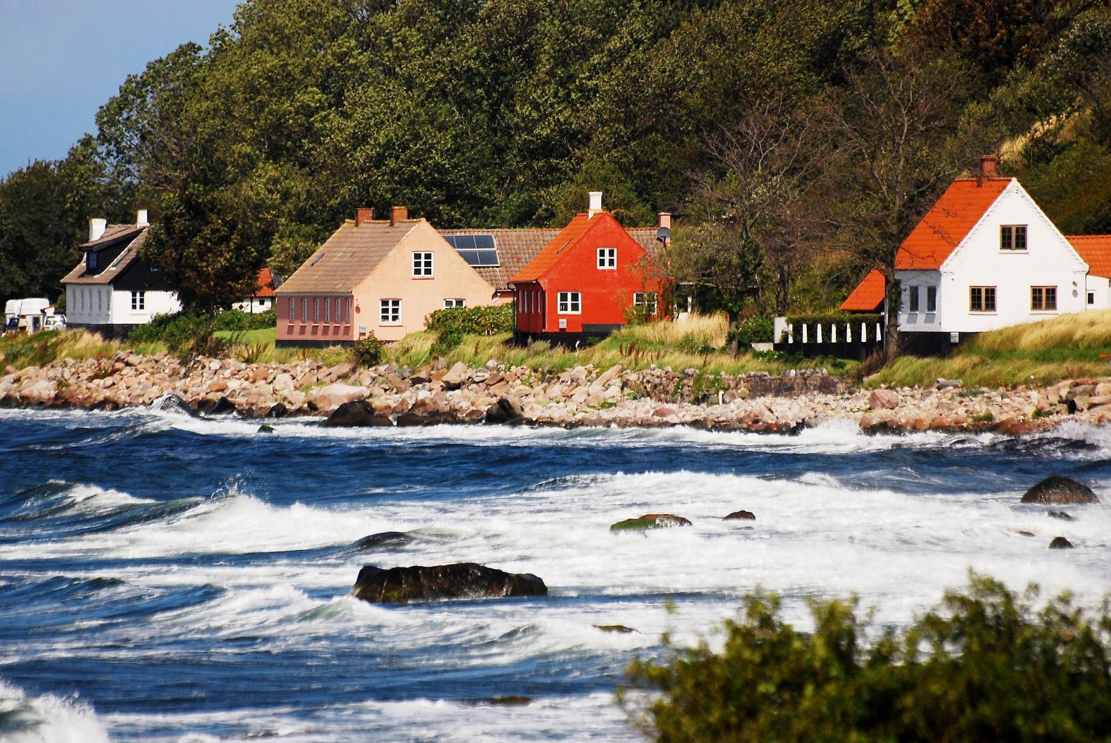 Bờ biển Bornholm, Du lịch Đan Mạch mùa Thu