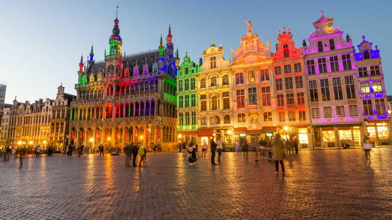 Brusels được mệnh danh là thành phố kiến trúc nghệ thuật đẳng cấp