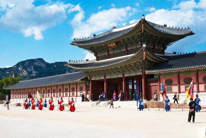 Những hình ảnh tuyệt đẹp tại Cung điệnGyeongbokgung